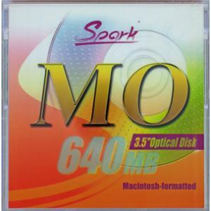 SPARK MO640MB 1枚(640MB Mac) 3.5インチMOディスク Macintoshフォーマット済|flashstore