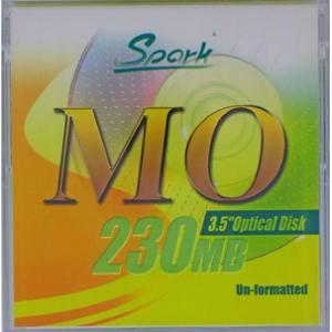 SPARK MO230MB 1枚(230MB Unformat ) 3.5インチMOディスク flashstore