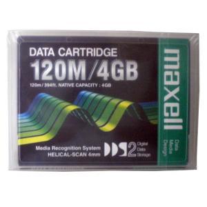 【MAXELL】 DDSデータカートリッジ  HS-4/120S XJ