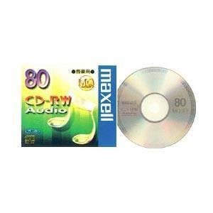 【お取り寄せ商品】maxell CD-RW MQシリーズ 音楽用 80分 1枚 10mmケース入り くり返し記録用 CDRWA80MQ.1TP|flashstore