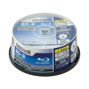 【お取り寄せ商品】maxell BD-R データ用 25GB 1-4倍速 30枚 スピンドルケース ...