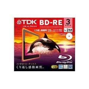 TDK 繰り返し録画用 BD-RE 25GB 2倍速対応 ホワイトワイドプリンタブル 3枚 10mmPケース BEV25PWA3A flashstore