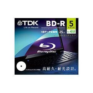 TDK データ用 BD-R 4倍速対応 25GB 5枚 ホワイワイドトプリンタブル 5mmスリムケース BRD25PWB5A