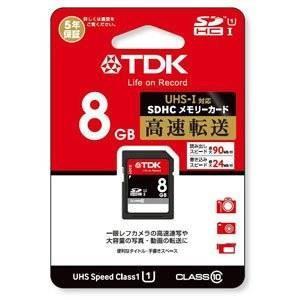 【数量限定☆在庫限り】TDK SDHCメモリーカード Class10 UHS-1 8GB T-SDHC8GB10U【メール便対象商品合計2個までOK】