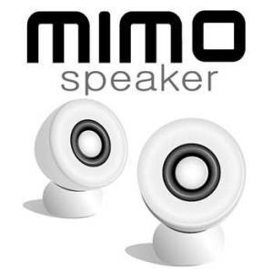 【売り切り御免!☆在庫限り】mimo speaker ミニエッグ型超小型マルチメディアスピーカー mimo speaker VS-E100 flashstore