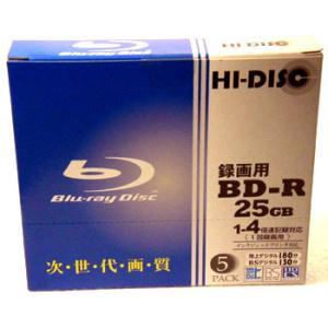 【返品交換不可】HI DISC BD-R 25GB 4倍速対...