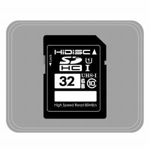 HIDISC SDHCカード 32GB CLASS10 UHS-1対応