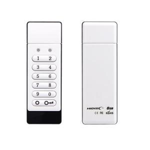 <新製品>暗証番号付き・データ破壊機能・自動ロック機能USB2.0 8GB HDSEUF112C8G2