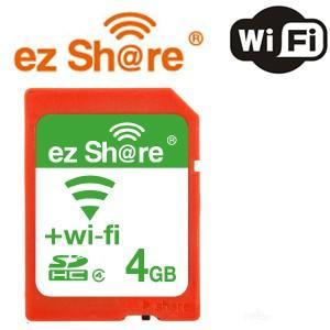 【数量限定☆在庫限り】ez Share Wifi機能付き SDHCカード Class4 4GB MLEZSDHC4GBCL4JP