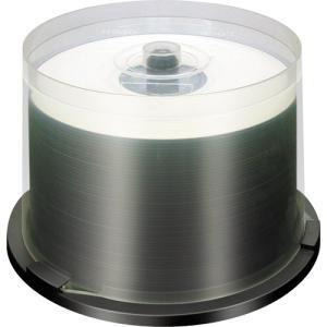 【返品交換不可】ノーブランド BD-R 録画用 CPRM対応 25GB 6倍速対応 50枚 スピンドルケース ホワイトワイドタイプ インクジェットプリンタ対応 BR25RP50U_R