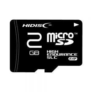HIDISC SLC採用高耐久 microSDカード TOSHIBAチップ採用 HDMCSD2GSLPJP3 flashstore