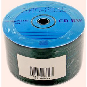 【売り切り御免!☆在庫限り】【返品交換不可】CD-RW 700MB 1-4倍速対応 50枚 エコ包装 PF CDRW80 4X50PM|flashstore