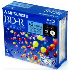 【売り切れ御免】 三菱化学メディア BD-R 追記型一回録画用 25GB 2倍速 5枚 ホワイトノーマルタイプインクジェットプリンタ対応 VBR130NP5 flashstore