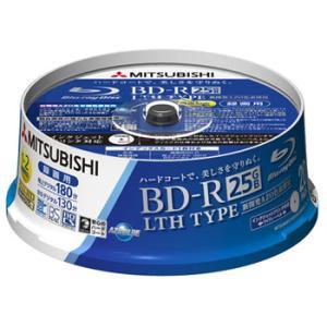 【数量限定特価】三菱 BD-R LTH TYPE 25GB 2倍速対応 20枚 録画用ブルーレイディスク 記録面にAZO色素を採用! VLR130NSP20S flashstore
