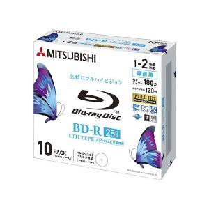 三菱ブルーレイディスク BD-R 10枚 録画用 25GB 2倍速対応 ワイドプリンタブル VLR130NP10YB flashstore