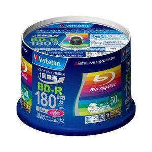 Verbatim BD-R 録画用 地上デジタル放送対応 25GB 6倍速対応 50枚  スピンドル...