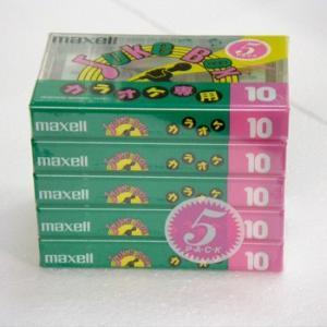 マクセル カセットテープ 10分 5本 JB10 5P|flashstore