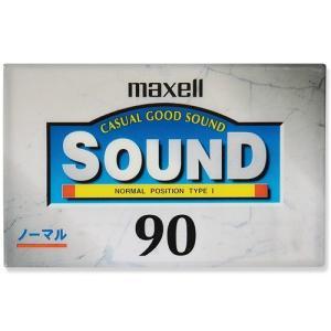 【訳あり】maxell 音楽用 カセットテープ ノーマルポジション Type1 90分 1本 maxell SD-90D|flashstore