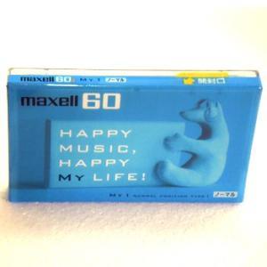 マクセル 音楽用 カセットテープ 60分 1本 HAPPY MUSIC maxell MY1-60N|flashstore