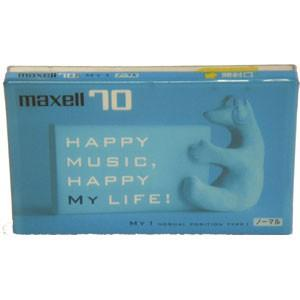 【アウトレット品】マクセル カセットテープ ノーマルポジション 70分 1本 Maxell MY1-70N|flashstore