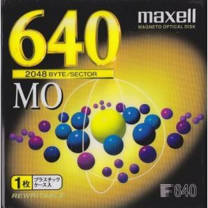 マクセル 3.5型 MOディスク 640MB 1枚 アンフォーマット maxell MA-M640 A1P flashstore