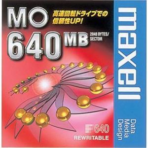 【生産終了品・在庫限り】マクセル 3.5インチ MOディスク 640MB 1枚 アンフォーマット maxell MA-M640 B1P flashstore