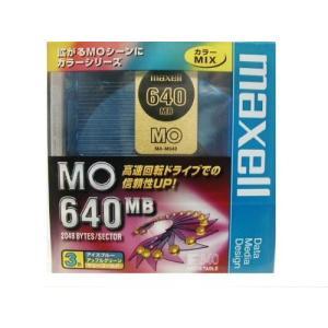 【生産終了品・在庫限り】マクセル 3.5インチ MOディスク 640MB 3枚パック アンフォーマット maxell MA-M640(MIX) B3P flashstore