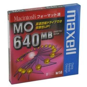 【生産終了品・在庫限り】マクセル 3.5インチ MOディスク 640MB 1枚 Machintoshフォーマット済み MA-M640 MAC B1P flashstore