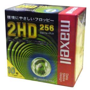 【生産終了品・在庫限り】 maxell 3.5インチ フロッピーディスク 256フォーマット 10枚 MFHD256.C10P【メール便NG】|flashstore
