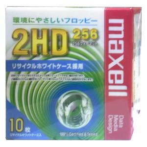 【生産終了品・在庫限り】 マクセル 3.5インチ フロッピーディスク 256フォーマット済み 10枚 Maxell MFHD256.C10E【メール便不可】|flashstore