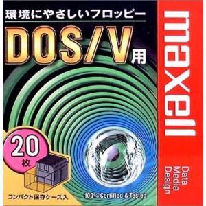 【生産終了品・在庫限り】 マクセル 3.5インチ 2HD フロッピーディスク Windows/MS-DOSフォーマット済 20枚 MFHD18.C20P|flashstore