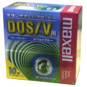 【生産終了品・在庫限り】 マクセル 3.5インチ 2HD フロッピーディスク Windows/MS-DOSフォーマット済 10枚入 コバルトブルー MFHD18BL.C10P【メール便不可】|flashstore