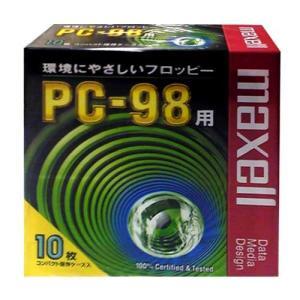 【生産終了品・在庫限り】 マクセル 3.5インチ 2HD フロッピーディスク PC98用MS-DOSフォーマット(98フォーマット)済 10枚パック MFHD8.C10P【メール便不可】|flashstore