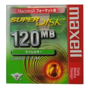 【激レア!】SuperDisk(スーパーディスク)120MB  カラーシェルタイプ★ライムカラー★SD120MACGN.B1P【メール便不可】|flashstore