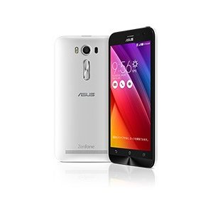 【リファービッシュ品】ASUS SIMフリースマートフォン ZenFone 2 Laser(Qualcomm Snapdragon 410/メモリ 2GB)16GB ホワイト ZE500KL-WH16|flashstore