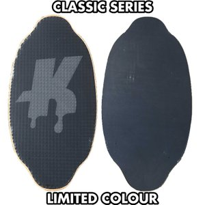 フラットスキム ランド Kayotics カヨティックス Classic Series Dripped ブラックxダークグレー Size:107cm×53cm flatskimjapan