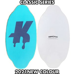 フラットスキム ランド Kayotics カヨティックス Classic Series Dripped ターコイズxパープル Size:107cm×53cm flatskimjapan