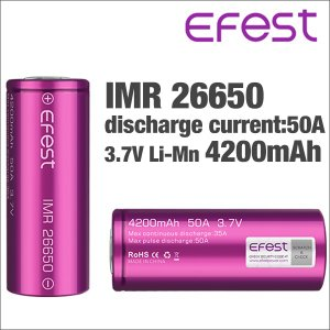 電子タバコ VAPE バッテリー Efest IMR 266...