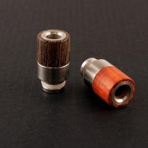 電子タバコ VAPE 用ウッド&ステンレスドリップチップ510|flavor-kitchen