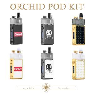 ORCHID POD SYSTEM 950mAh KIT オーキッド ポッド キット 電子タバコ vape POD 型 コンパクト メッシュ テクニカル mod SquidIndustries flavor-kitchen
