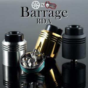ASMODUS x Thesis Barrage RDA アスモダス バラージ 電子タバコ vape アトマイザー RBA RDA シングル 直径 24mm|flavor-kitchen