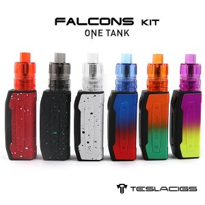 TESLA TESLACIGS falcon kit vape MOD テスラ テスラシグズ  BOXMOD ファルコン ファルコンズ 内蔵バッテリーMOD flavor-kitchen