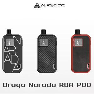 Augvape Druga Narada 1100mAh Pod オーグベイプ ドルーガ ナラーダ ポッド 電子タバコ vape pod型 リビルド べイプ コンパクト|flavor-kitchen