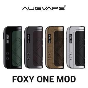 AUGVAPE オーグべイプ FOXY ONE MOD フォクシー ワン モッド 電子タバコ vape テクニカルMOD 18650 シングル 21700 フォクシーワン|flavor-kitchen