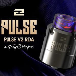 PULSE V2 VANDYVAPE vape ボトムフィーダー 対応 ドリッパー RBA RDA PULSE BF 直径 24mm パルスV2 VANDY VAPE 社製 アトマイザー PULSE V2 RDA flavor-kitchen
