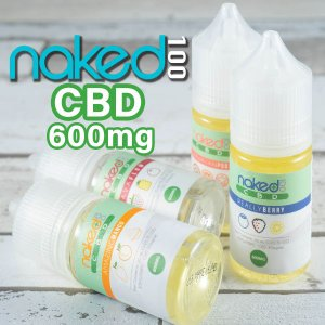 Naked 100 CBDリキッド 30ML CBD 600mg 電子タバコ vape リキッド C...