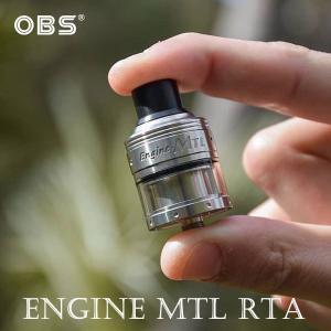 おまけつき OBS Engine MTL RTA 2ml エンジン 電子タバコ vape アトマイザー RTA 直径 24mm 液漏れしない MTL シングル 味重視|flavor-kitchen
