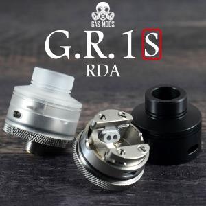 GASMODS G.R.1 S RDA ガスモッズ GR1 GR1S ガスモッド 電子タバコ vape アトマイザー rda 直径 22mm 小さい コンパクト 背 低い シングル|flavor-kitchen