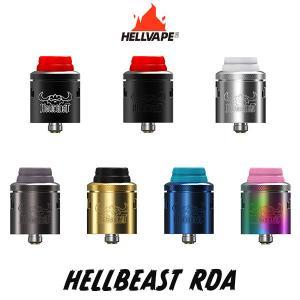 Hellvape Hellbeast RDA ヘルべイプ ヘルビースト RDA 電子タバコ vape アトマイザー RDA デュアル 直径 24mm 爆煙 BF スコンカー|flavor-kitchen