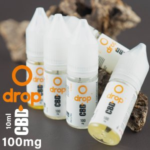 DROP CBDリキッド 10ml 100mg 電子タバコ vape リキッド CBD 高濃度 ドロ...